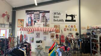 Glinder butik i Mjölby interiörbild