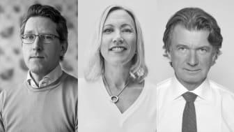 Lars Wedlin, Helena Mueller och Anders Wijkman