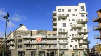 Höga betyg enligt internationell hållbarhetscertifiering till Riksbyggens projekt i Kvarteret Sjöfararen