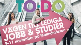 TODO – en plats att hitta lediga jobb eller utbildningar