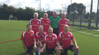 The Bury Relics, walking football team who met at sessions held at Castle Leisure Centre.