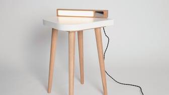 Jake Barker's award-winning lamp