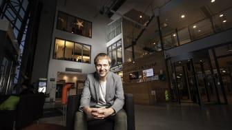 Jesper Strömqvist är verksamhetschef på  Innovatum Startup som ska leda den svenska satsningen. Foto: Andreas Olsson.