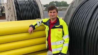 Träffa en av våra kollegor: Daniel Råberg som är projektingenjör inom Elnät.
