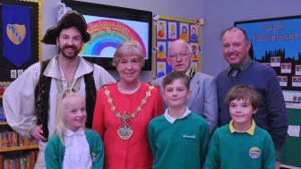 Shiver me timbers - Greenhill pupils win the Bury'd Treasure