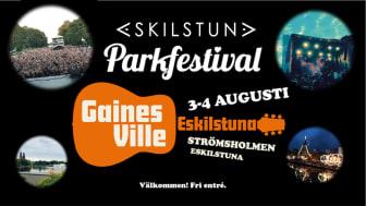 Helgen 3-4 augusti är det dags igen för en stor festivalhelg i Eskilstuna.