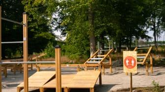 Gratis träning året om för alla träningssugna på Svarta Led. Foto: Sölvesborgs kommun