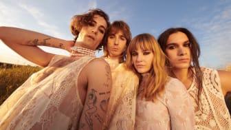 Italienska Eurovisionvinnarna Måneskin gästar säsongspremiären av Lotta på Liseberg nu på söndag 20 juni