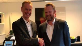 Håkan Lord, SoftOne Group och Christian Borell, FDT