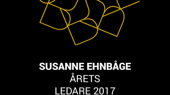 Susanne Ehnbåge, Årets Ledare 2017