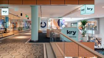 Kry:s nya vårdcentral i Gallerian. Foto: Peder Lindbom.