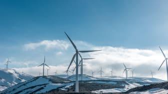 Varje timme i fyra timmar natten till tisdagen låg vindkraftsproduktionen i Norden sammanlagt på runt 12 GW.