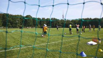 Fußballtag zusammen mit der Münchner Fußball Schule