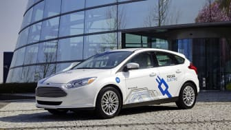 Ford kommer erbjuda europeiska kunder tre olika fordon med eldrift under 2014