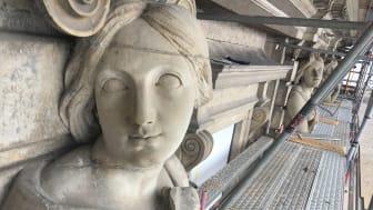 Tyréns konstruktörer restaurerar fasaden på Stockholms slott