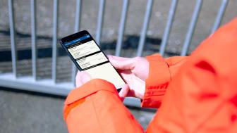 Digital arbetsorder underlättar för alla medarbetare. Foto: AddMobile.