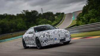 Helt nye BMW M3 Sedan og BMW M4 Coupé: Med startstreken i sikte