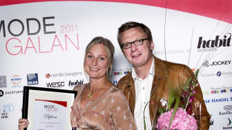 Vinnare Årets Inredningskoncept, Modegalan 2011