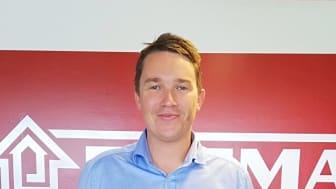 31-årige Caspar Bladt er pr. 1. juli udnævnt til direktør for Bygma Jelling