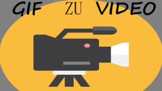 Gif zu video