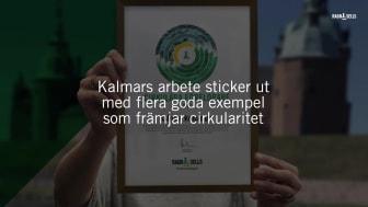 Kalmar kommun - årets cirkulära förelöpare 2020