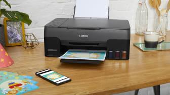 PIXMA G-serie, MegaTank-printere