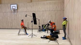 Torvbråten skole fokuserer på sosial bæredyktighet og miljøriktig arkitektur. Foto: Jon-Erling Johannessen.