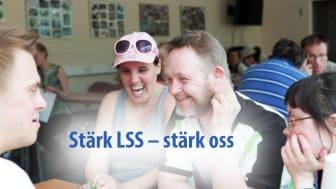 Stärk LSS och stärk personer med utvecklingsstörning, med familjer! Fotograf Ola Elmqvist