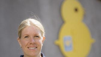 Jenny Andersson,  Svensk Fågels ordförande och kycklingbonde