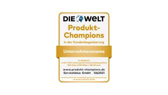 Produkte, die begeistern: Deutschlands Produkt-Champions 2021
