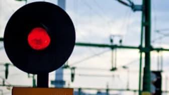 Stopp i trafiken när bristen på samhällsbyggare ökar. Bild: Trafikverket.