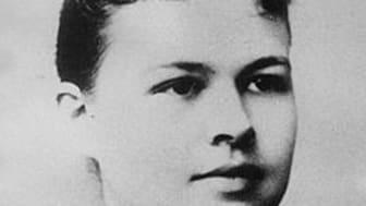 Elisabeth Hesselblad som ung under sin tid i USA