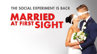 Poster from the Australian version of Married At First Sight. But how promiscuous has the show's format been?