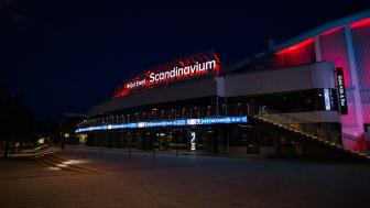 Ikväll lyser Scandinavium och Ullevi i rött