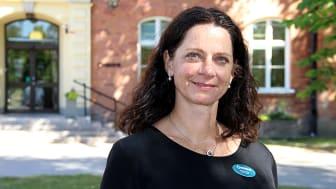 Anneli Utas, ny verksamhetschef för Tiohundra AB:s vårdcentraler i Norrtälje kommun.
