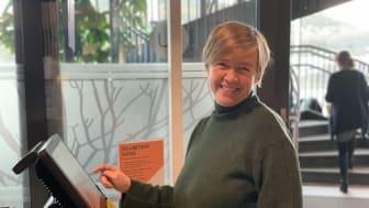 Tone Christoffersen, velferdskoordinator ved Samskipnaden campus Harstad