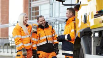Redan idag räknar man med att det behövs 7000 nya lastbilschaufförer under det närmaste året och 50.000 inom de närmaste tio åren.