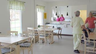Stötdämpande golv på äldreboende i Sunne nominerat till GötaPriset 2015