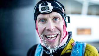 Vinnaren av ultratrippeln Sandsjöbacka Trail 2016, Sondre Amdahl