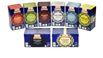 Kung Markattas teer kommer att levereras i förpackningar utan plastfolie.