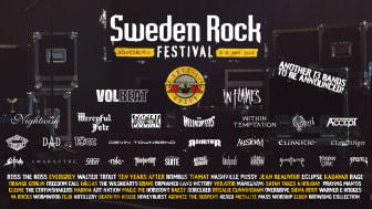 STORT ANTAL ARTISTER KLARA FÖR SWEDEN ROCK FESTIVAL 2022