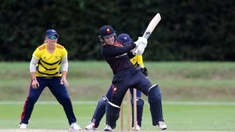 Sunrisers v Stars in year one of the Rachael Heyhoe Flint Trophy. Photo: Getty Images