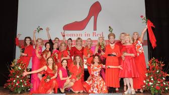 Den 17 mars kommer Woman in Red till Uppsala för en jämställd hjärtsjukvård