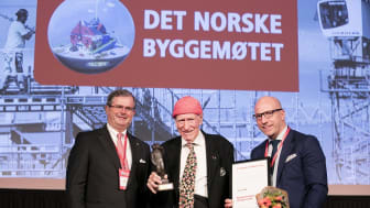 Fra venstre Carl Otto Løvenskiold, Olav Thon og Gunnar Glavin Nybø