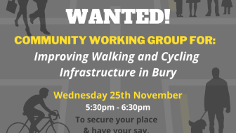 Help make plans to improve walking and cycling