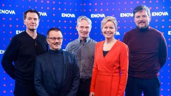 Arkivfoto fra Enovakonferansen i januar hvor representanter for kraftselskapene og Enova hadde møte om utbyggingen av hurtigladere i Troms og Finnmark. (Foto: Kilian Munch/Enova)