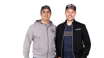 Milad Pouyanmehr & Gustav Kristiansson från RMBLStrip, fotograf Victor Ackerheim
