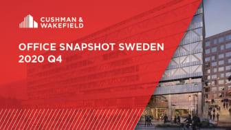 I senaste Office Snapshot Sweden presenterar Cushman & Wakefield aktuella kvartalsdata och trender för kontorsmarknaden i storstadsregioner över hela Sverige.