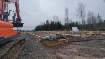 Byggnation pågår i Karlstad