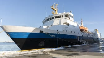 Training vessel MS Gann is to be fitted with an extensive equipment package supplied by Kongsberg Maritime